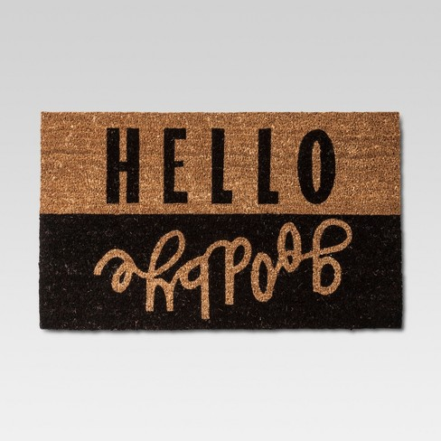 "Hello Goodbye Doormat  18""x30"" - Room Essentials™ - image 1 of 3"