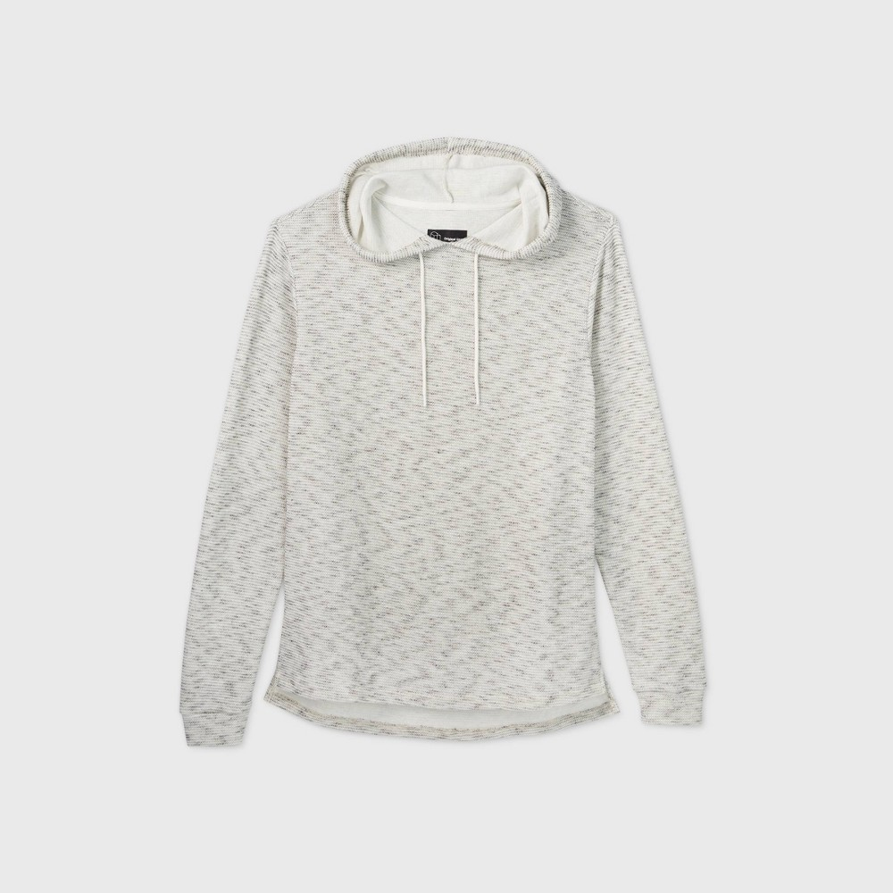 Men 39 S Hooded Knit Sweatshirt Original Use 8482 Gray S