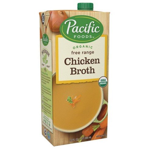 Pacific Foods Organic Free Range Chicken Broth - 32oz - image 1 of 4