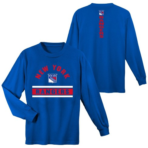 NHL New York Rangers Boys  Warming House Long Sleeve T-Shirt   Target bb10b49b0