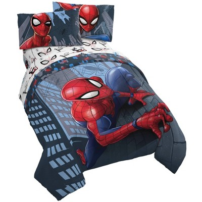 Full Spider-Man Crawl Bed in a Bag