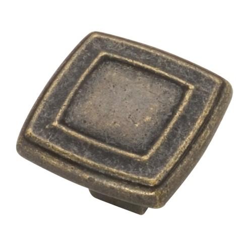 "Hickory Hardware P3180 Corinth 1-7/16"" Square Cabinet Knob - image 1 of 1"