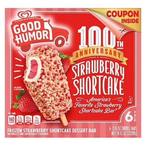 Good Humor Ice Cream & Frozen Desserts Strawberry Shortcake Bar - 6pk - image 1 of 4