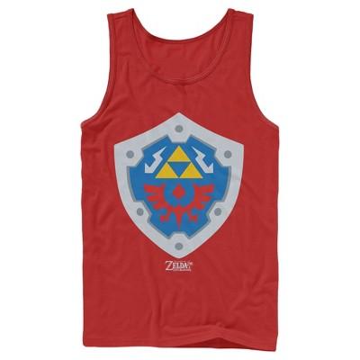 Men's Nintendo Legend of Zelda Link's Awakening Hylian Shield Tank Top