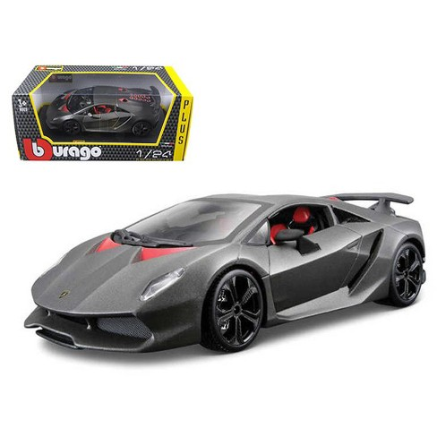 Lamborghini Sesto Elemento Matt Grey 1 24 Diecast Car Model By