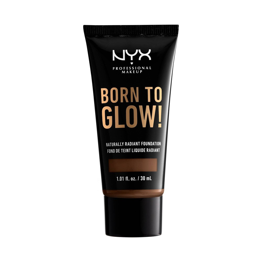 Nyx Professional Makeup Born To Glow Radiant Foundation Deep Cool 1 01 Fl Oz