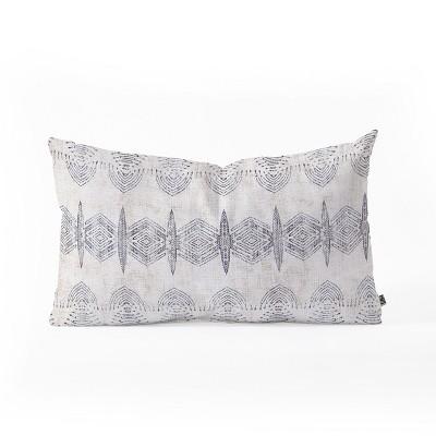 Holli Zollinger French Eris Throw Pillow Blue - Deny Designs