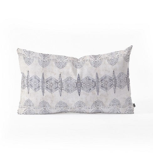 Holli Zollinger French Eris Throw Pillow Blue - Deny Designs - image 1 of 2
