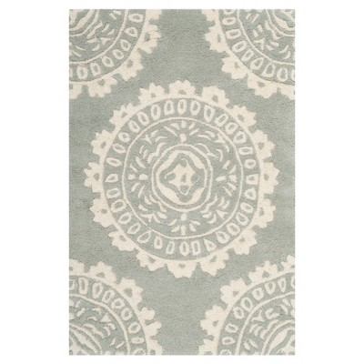 2'X3' Shapes Accent Rug Gray/Ivory - Safavieh