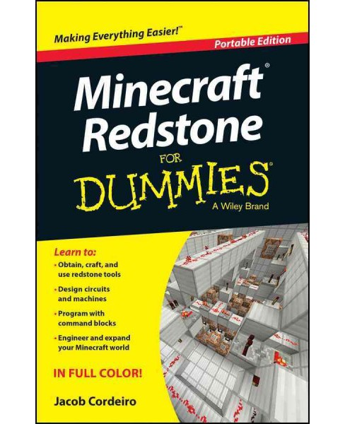 Minecraft Redstone for Dummies : Portable Edition (Paperback) (Jacob Cordeiro) - image 1 of 1