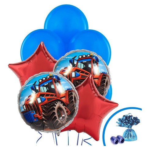 Farm Tractor Balloon Bouquet - image 1 of 1