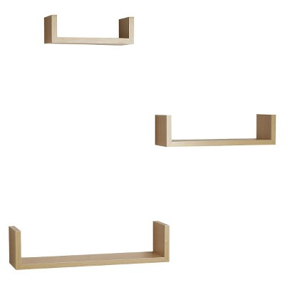 Nesting Shelves 3 Pack - Beech
