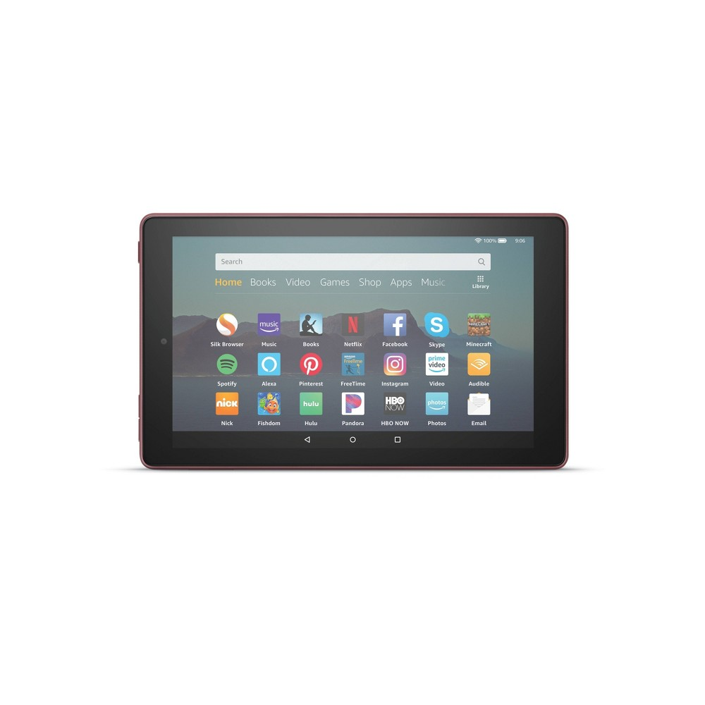 "Amazon Fire 7 Tablet, 7"" Display 32 GB - Plum"