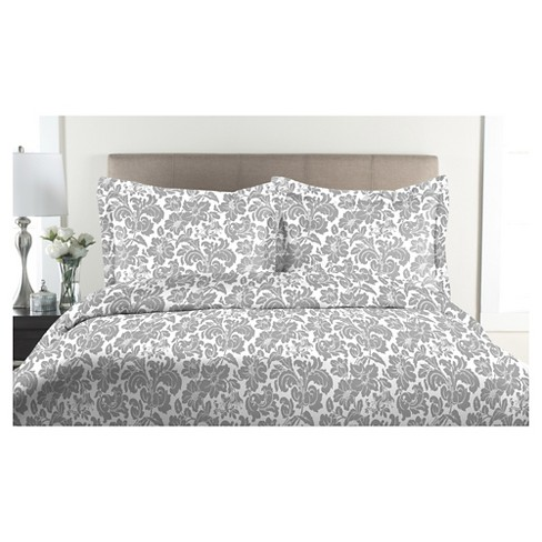 300tc Avalon 100% Cotton Print Duvet Set - image 1 of 1