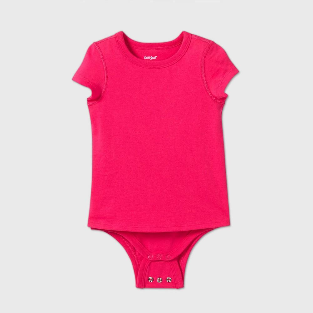 Toddler Girls 39 Adaptive Short Sleeve Adjustable Bodysuit Cat 38 Jack 8482 Pink 4t