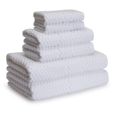 San Marco Towels White Set of 6 - Kassatex