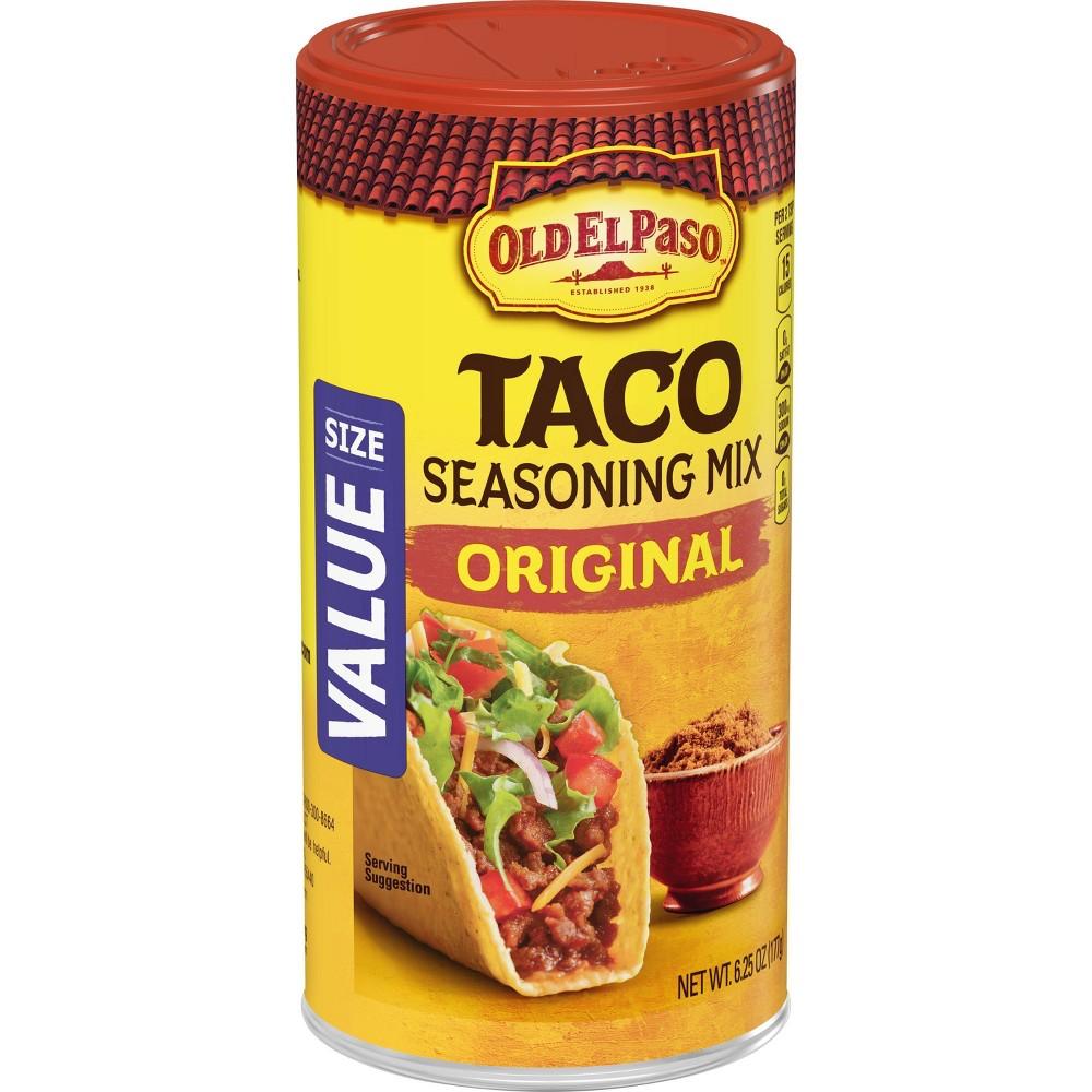 Old El Paso Taco Seasoning Mix Original 6.25oz Promos