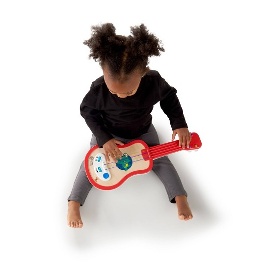 Baby Einstein Magic Touch Ukulele Wooden Musical Toy image number null