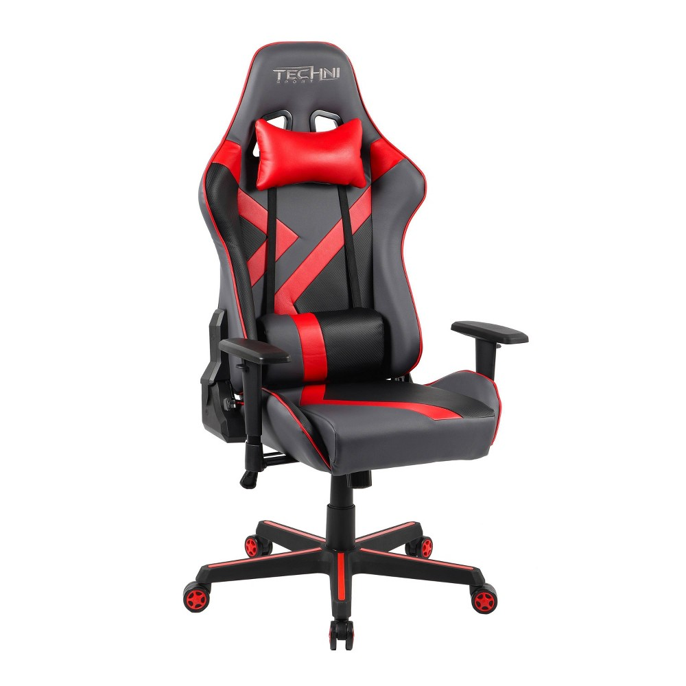 Image of Office PC Gaming Chair Red - Techn Sport