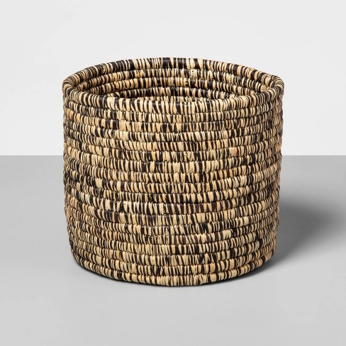 """7"""" x 7"""" Hand Woven Raffia Basket Brown - All Across Africa for Opalhouse™ - image 1 of 4"""