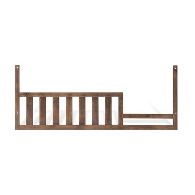 Child Craft Toddler Guard Rail - Toasted Chestnut