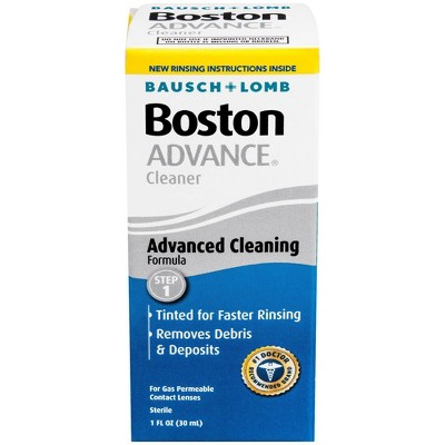 Boston Advance Cleansing Contact Lens Solution - 1oz.
