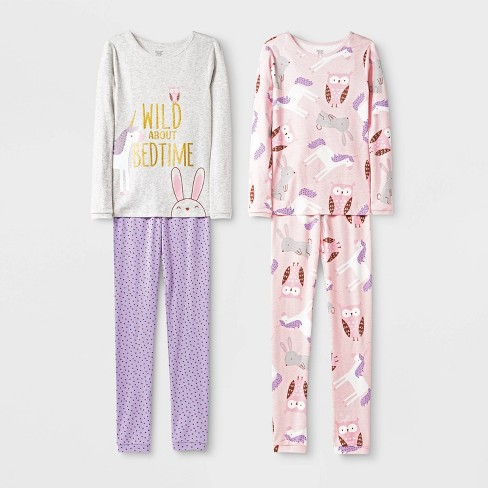 Girls' Bunny Pajama Set - Just One You® made by carter's - image 1 of 1