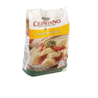 Celentano Rosina Round Frozen Cheese Ravioli - 24oz