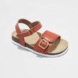 cb1012632fd46 Toddler Girls' Elysia Huarache Sandals - Cat & Jack™ Tan 6 : Target
