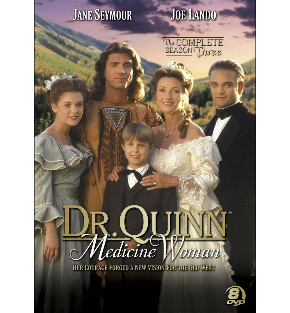 Anderson Dr quinn medicine woman:Complete ssn3 (Dvd)