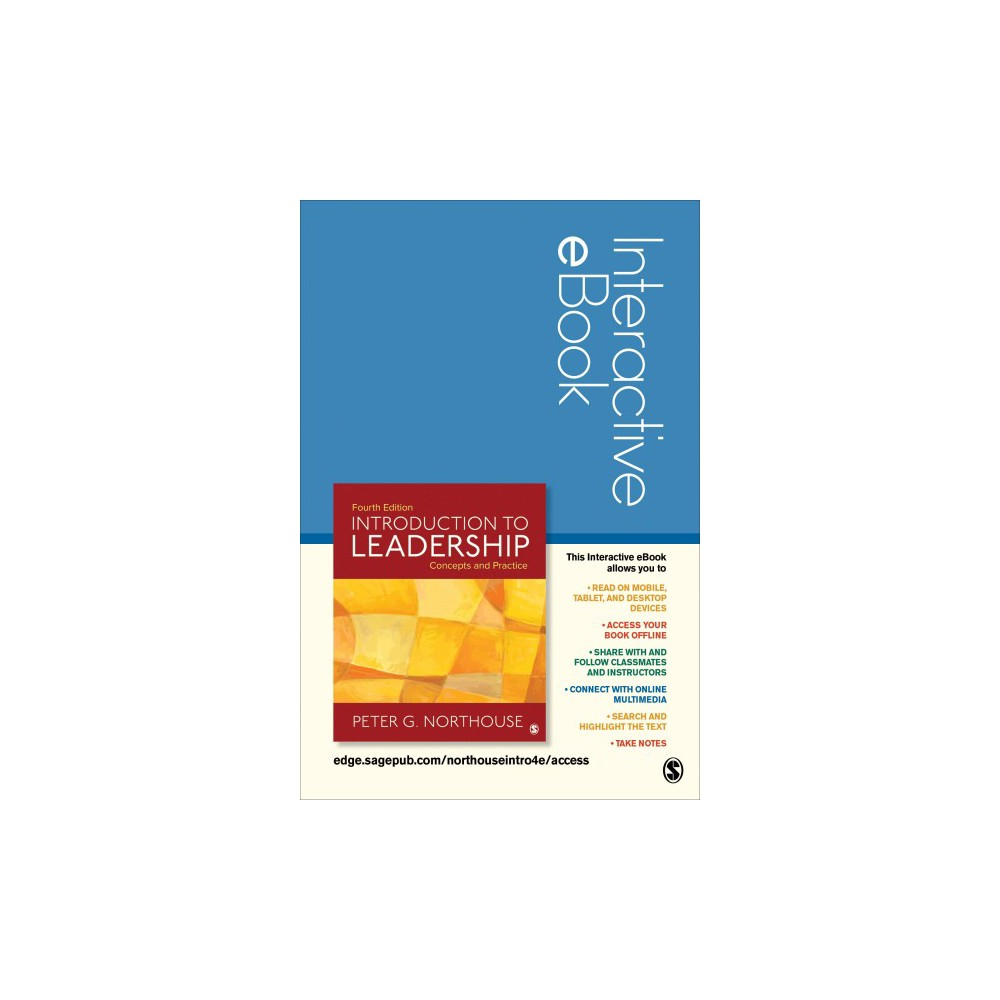 Introduction to Leadership Interactive eBook Access Code : Concepts and Practice (Hardcover) (Peter G.