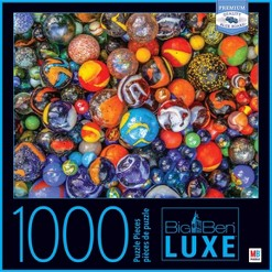 Big Ben Luxe: Marbles Puzzle 1000pc, Adult Unisex