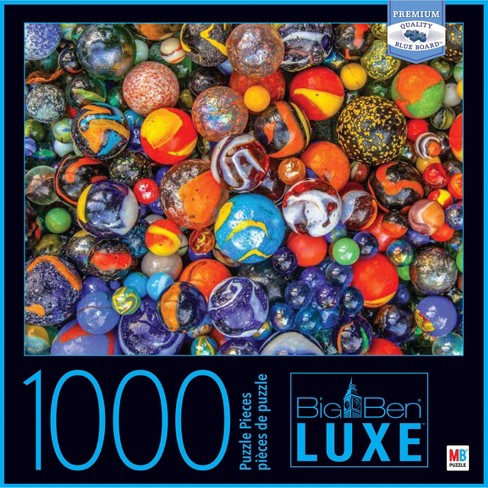 Big Ben Luxe: Marbles Puzzle 1000pc - image 1 of 2
