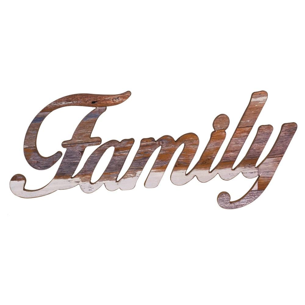 """Family Wall Sign  (27""""x12"""") - VIP Home & Garden"""