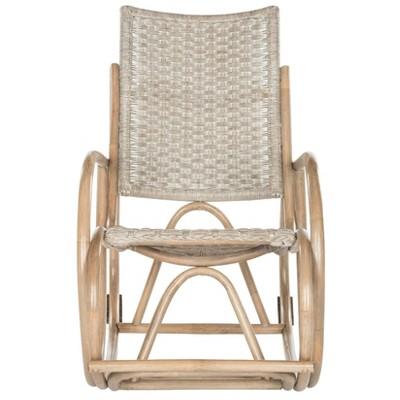 Bali Rocking Chair - Antique - Gray - Safavieh