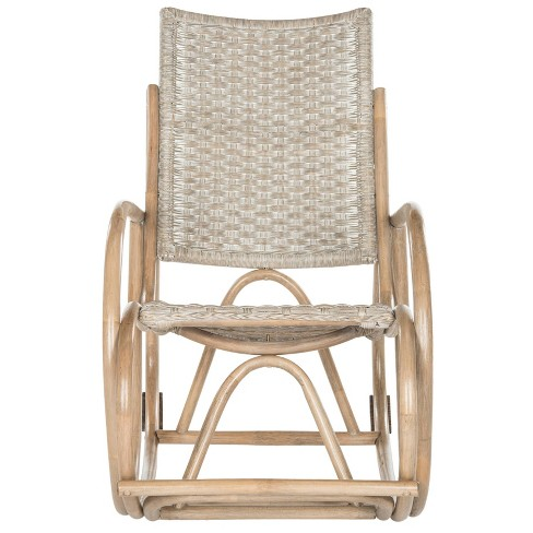 Bali Rocking Chair - Antique - Gray - Safavieh® - image 1 of 6