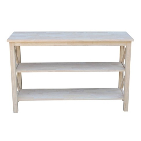 Hampton Console Table - International Concepts - image 1 of 4