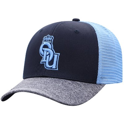 NCAA Old Dominion Monarchs Men's Blue & Gray with Hard Mesh Snapback Hat