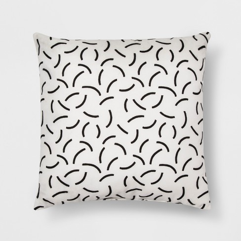 Black And White Geo Throw Pillow - Room Essentials™ - image 1 of 1