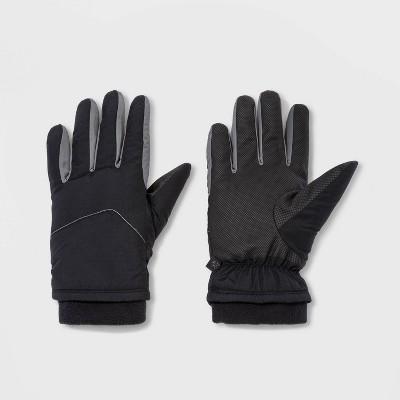 Men's Heavy Poly Waterproof Gloves - All in Motion™ Gray/Black