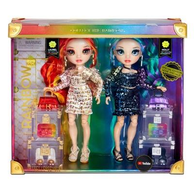 Rainbow High Laurel & Holly Devious Fashion Doll Set Special Edition