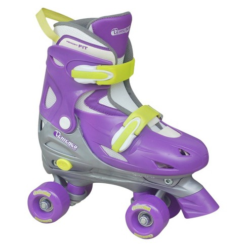 Chicago Skate Girls Adjustable Quad Skates - Purple (J10-J13) - image 1 of 1