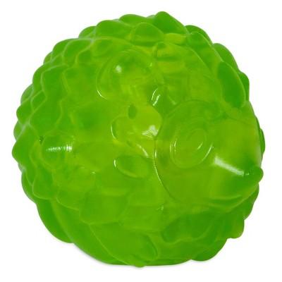 JW Pet Hedgehog Squeak-Ee Ball Dog Toy - Green - S