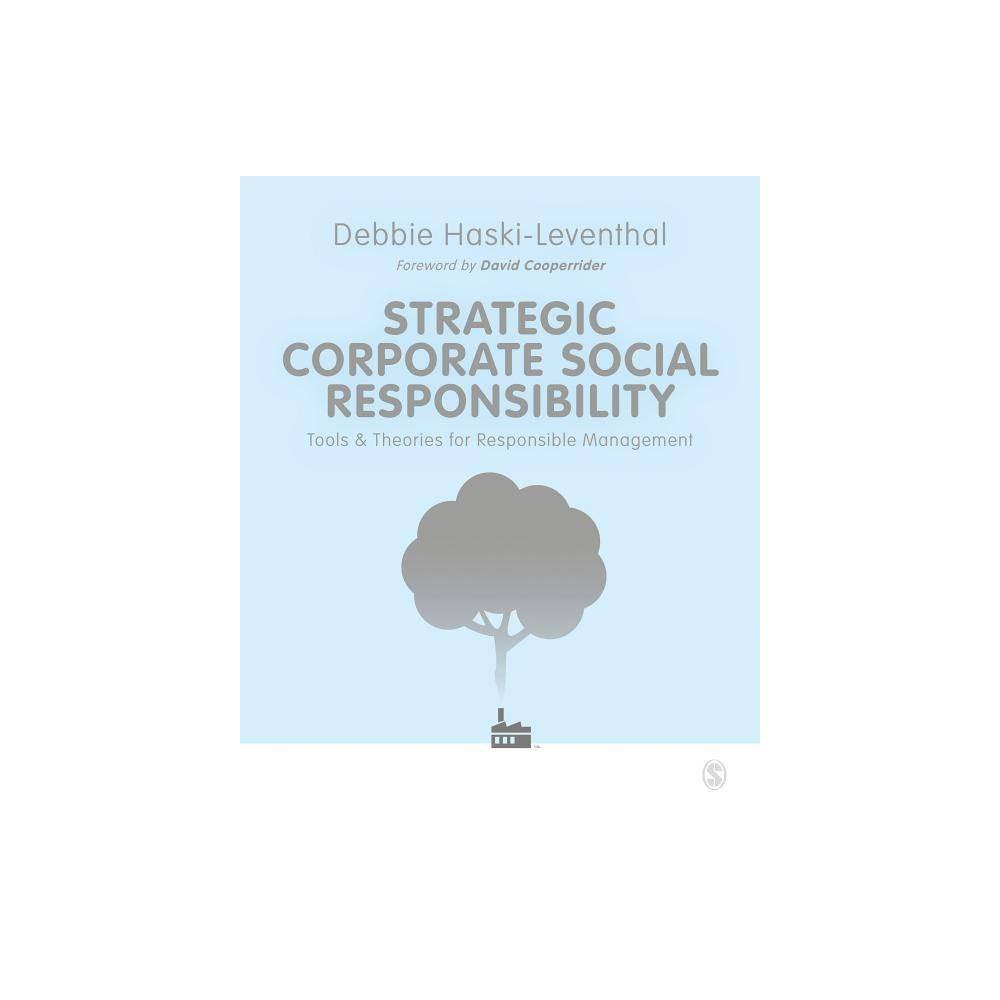 Strategic Corporate Social Responsibility By Debbie Haski Leventhal Paperback