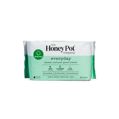 The Honey Pot Herbal Pantyliners - 30ct