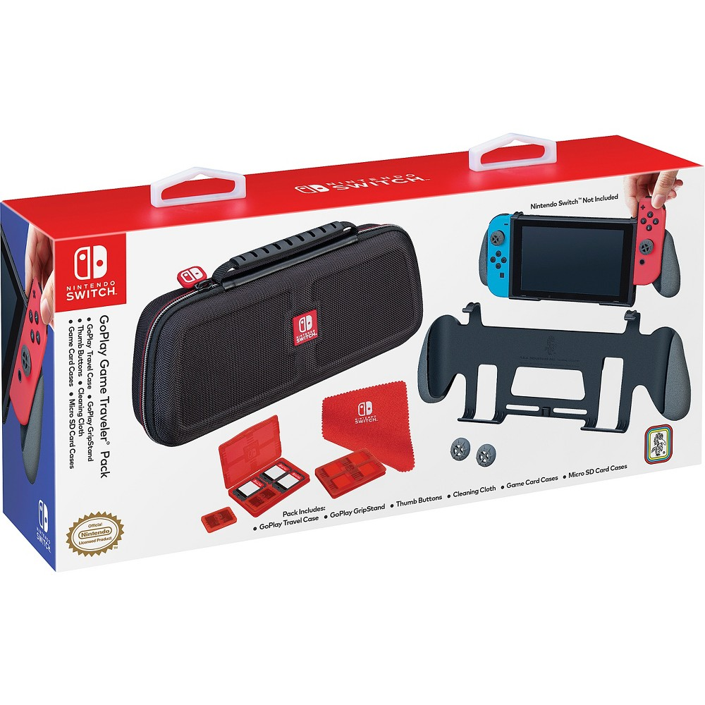 Nintendo Switch GoPlay Game Traveler Pack, Multi-Colored