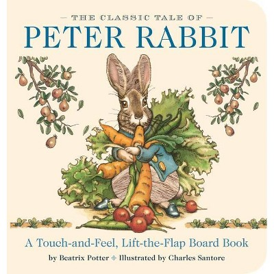 The Classic Tale of Peter Rabbit - (Classic Edition)by Beatrix Potter (Board_book)
