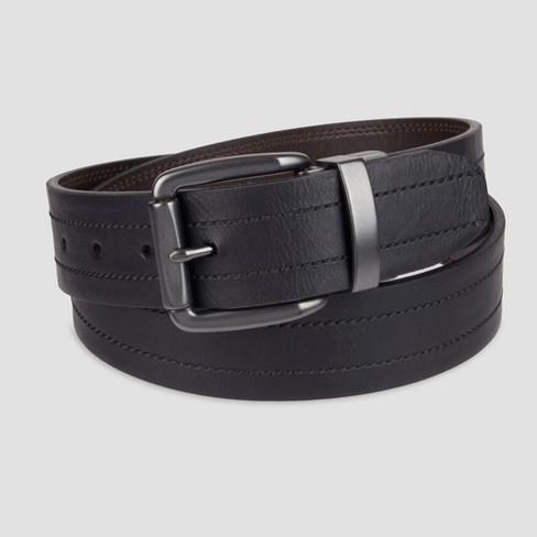 DENIZEN® from Levi's® Men's Reversible Casual Belt - Black - image 1 of 2