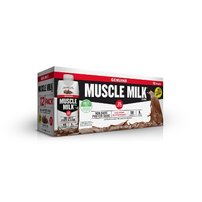 Protein & Meal Replacement: Muscle Milk Protein Shake