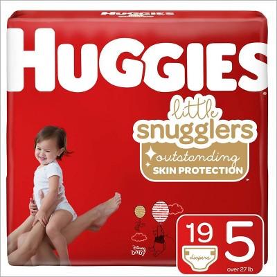 Huggies Little Snugglers Diapers Jumbo Pack - Size 5 (19ct)
